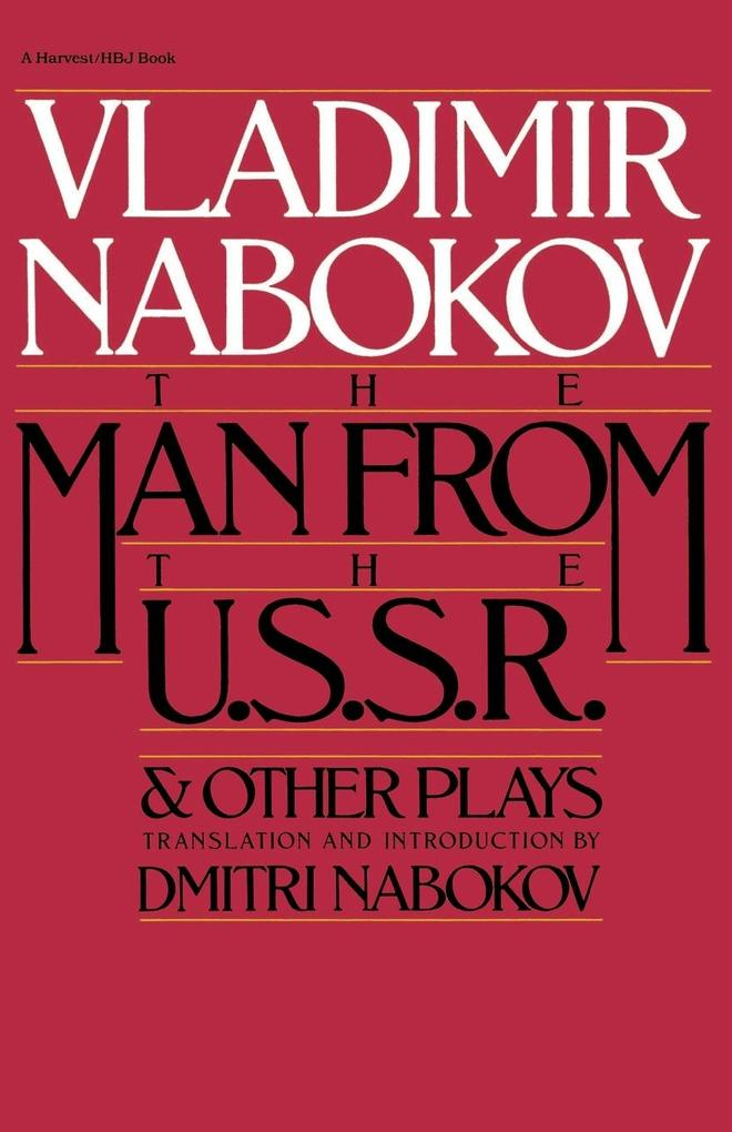 Man from the USSR: And Other Plays als Taschenbuch