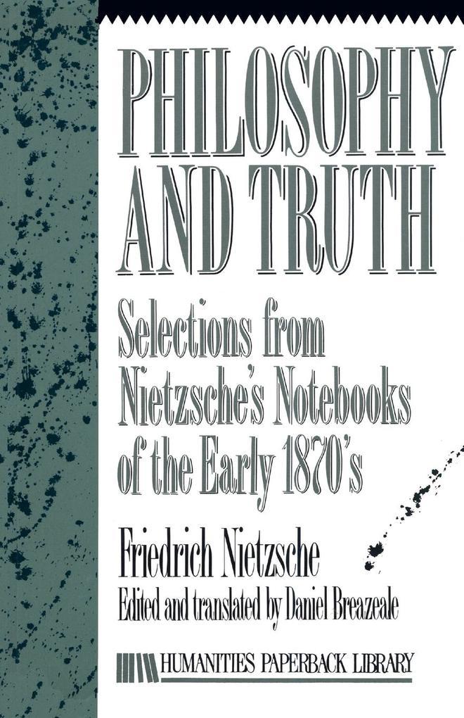 Philosophy And Truth als Taschenbuch