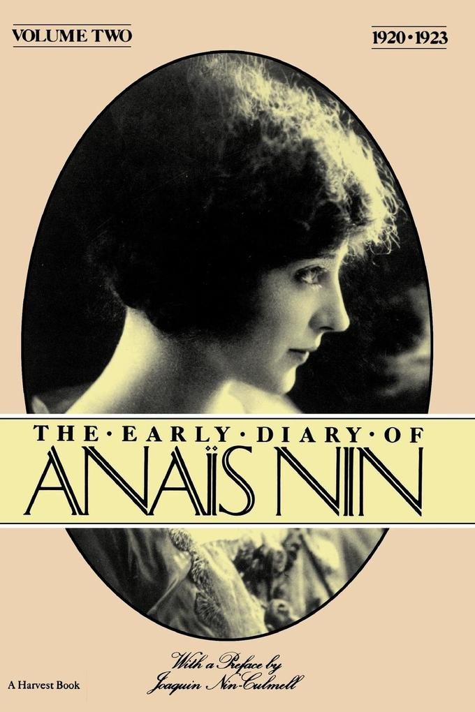 The Early Diary of Anais Nin, Vol. 2 (1920-1923) als Taschenbuch