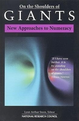 On the Shoulders of Giants:: New Approaches to Numeracy als Taschenbuch