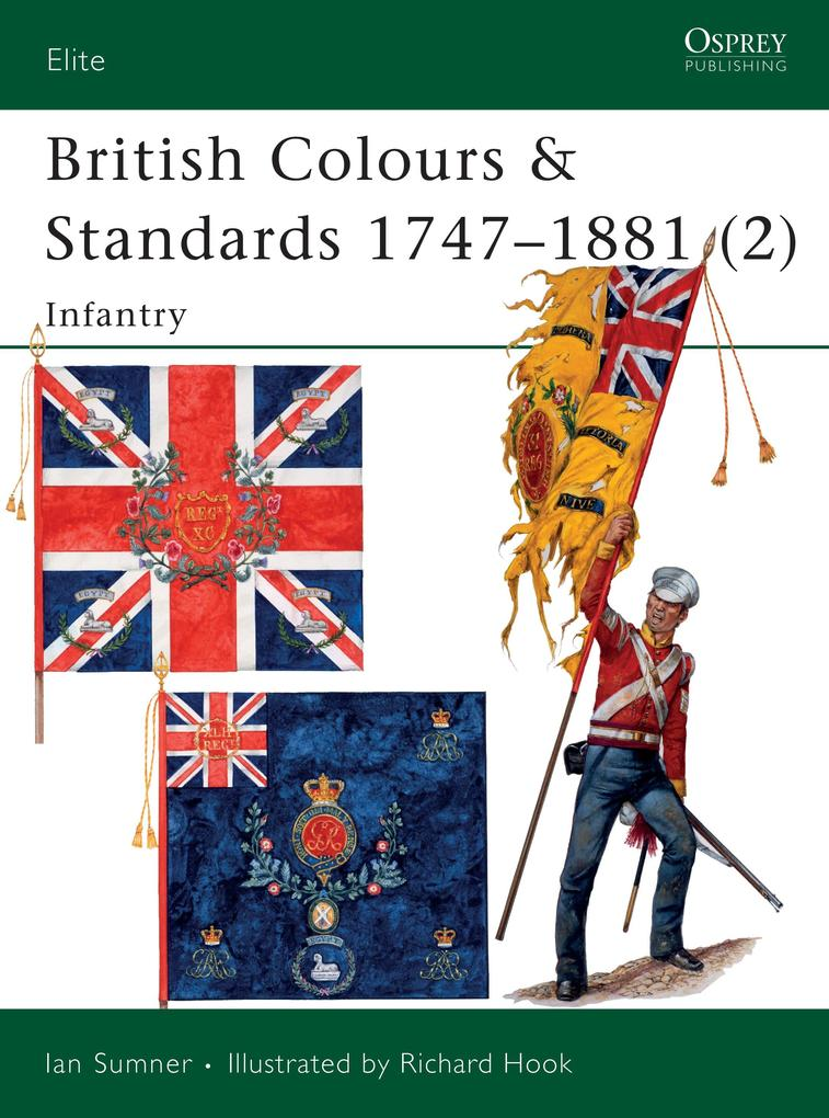 British Colours and Standards 1747-1881 als Taschenbuch
