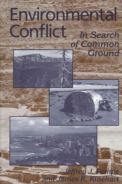 Environmental Conflict: In Search of Common Ground als Taschenbuch