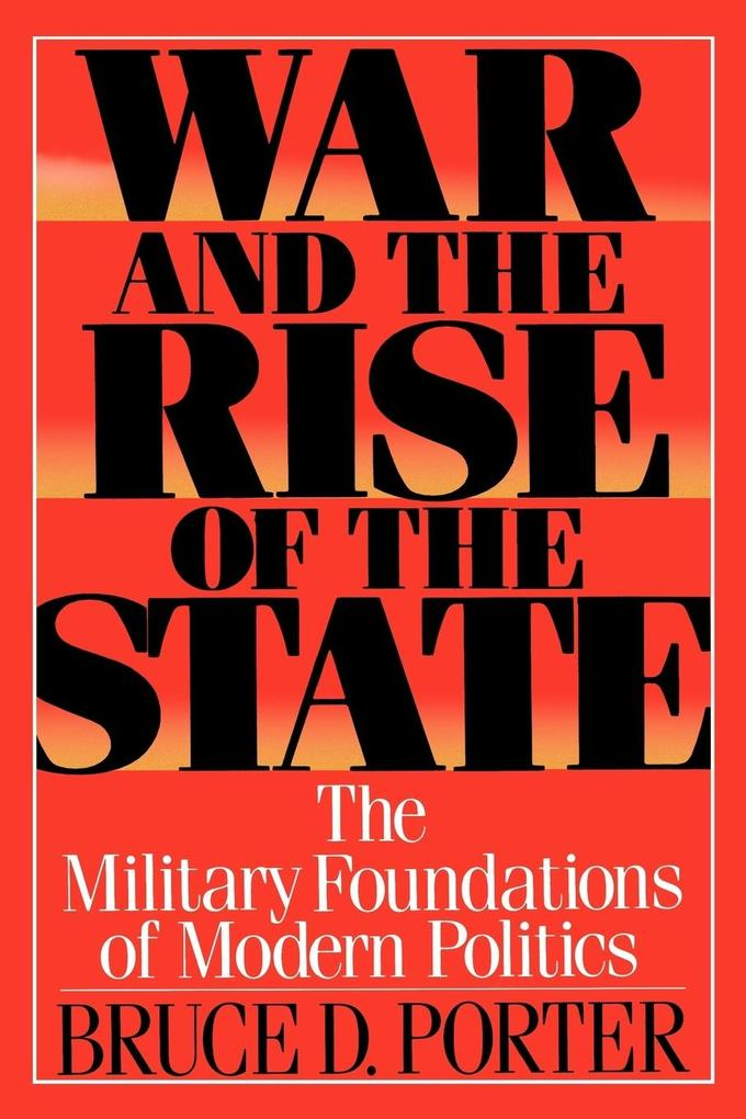 War and the Rise of the State als Taschenbuch