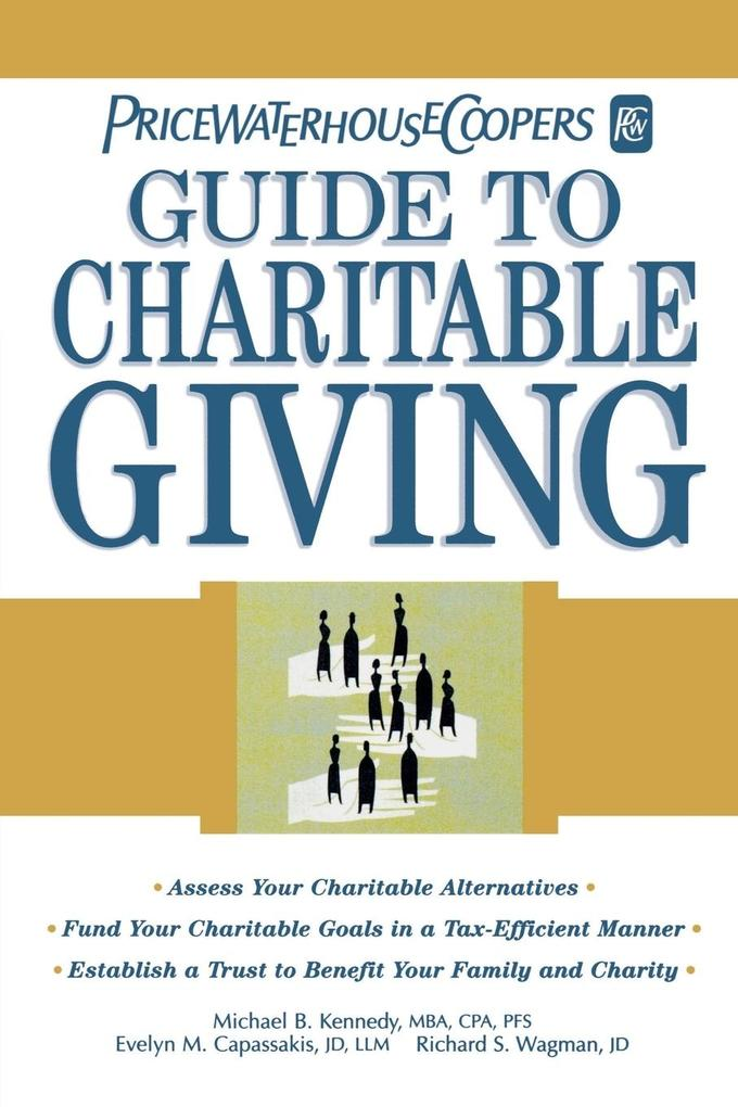 Pricewaterhousecoopers Guide to Charitable Giving als Taschenbuch