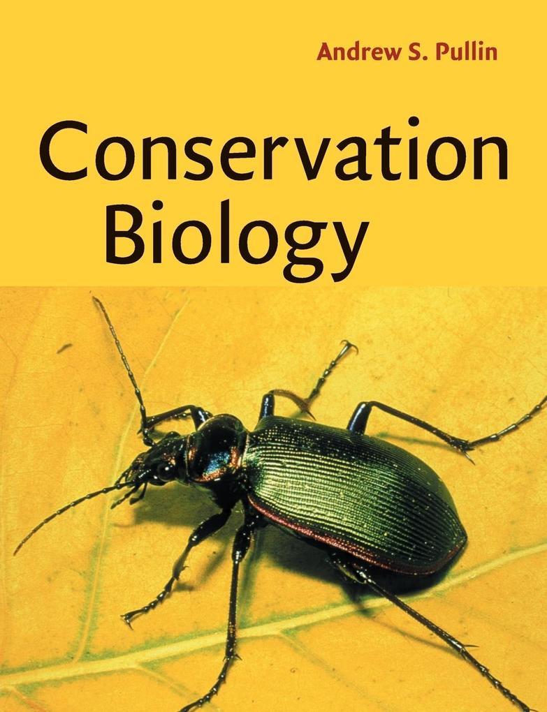 Conservation Biology als Buch