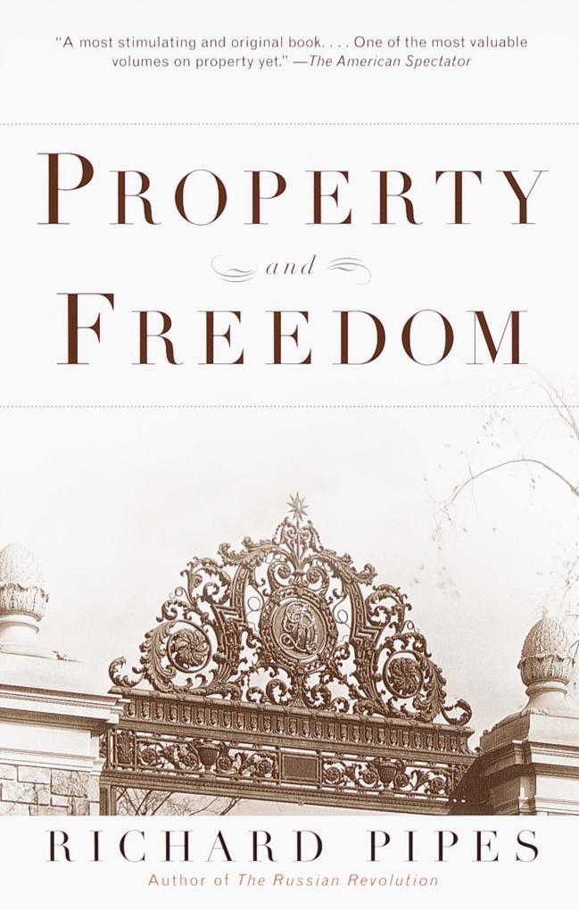 Property and Freedom als Taschenbuch