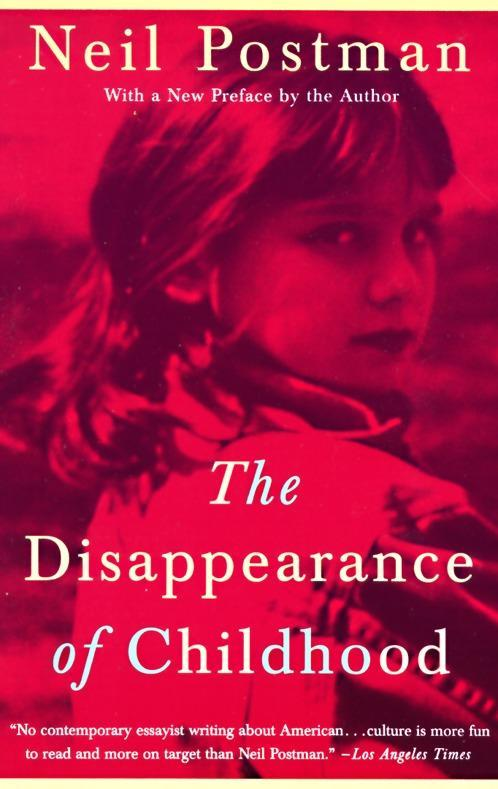 The Disappearance of Childhood als Taschenbuch