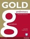 Gold Preliminary Coursebook z plyta CD-ROM