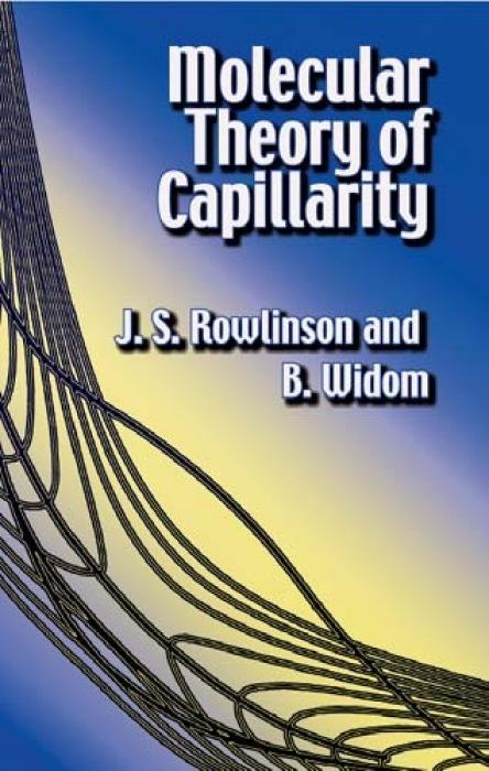 Molecular Theory of Capillarity als Buch