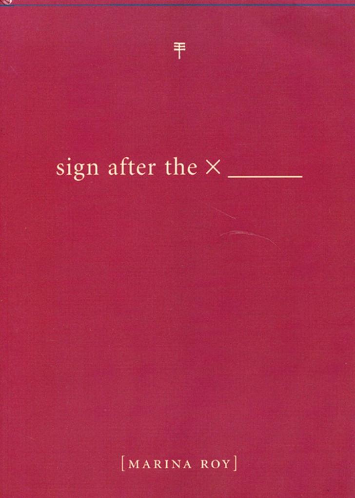 Sign After the X als Taschenbuch