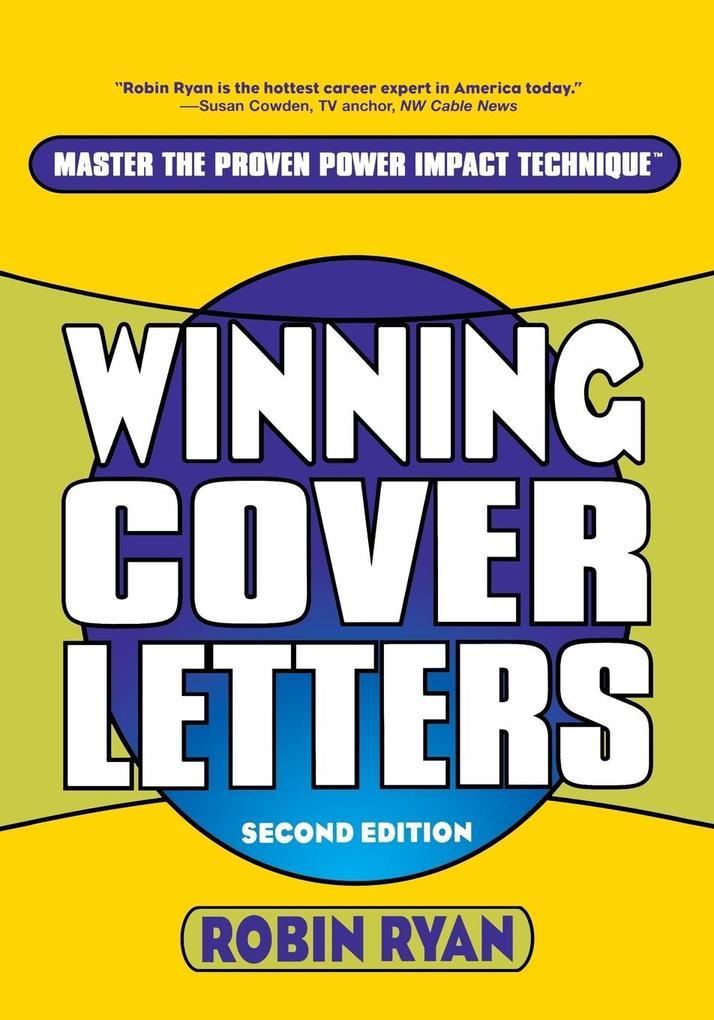 Winning Cover Letters als Taschenbuch