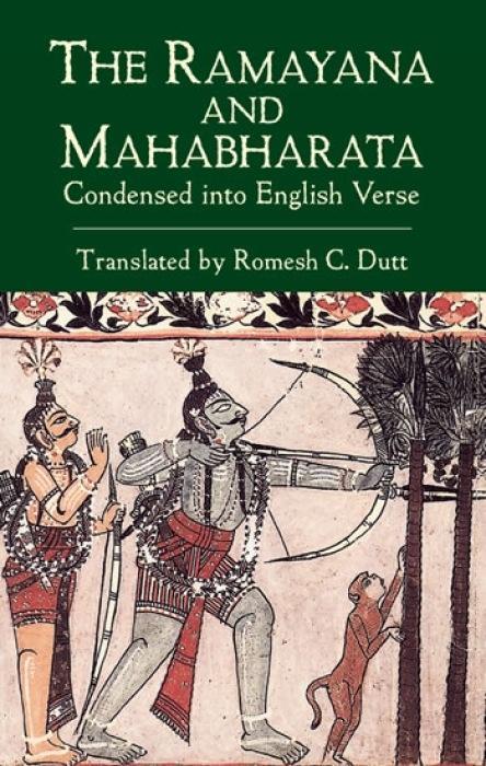Ramayana and Mahabharata Condensed Into English Verse als Taschenbuch