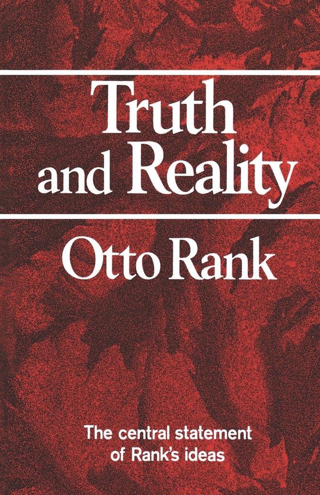 Truth and Reality als Taschenbuch