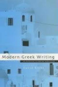 Modern Greek Writing als Taschenbuch