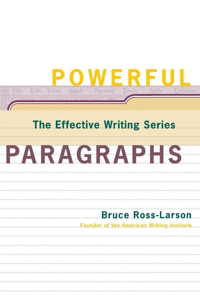 Powerful Paragraphs als Taschenbuch