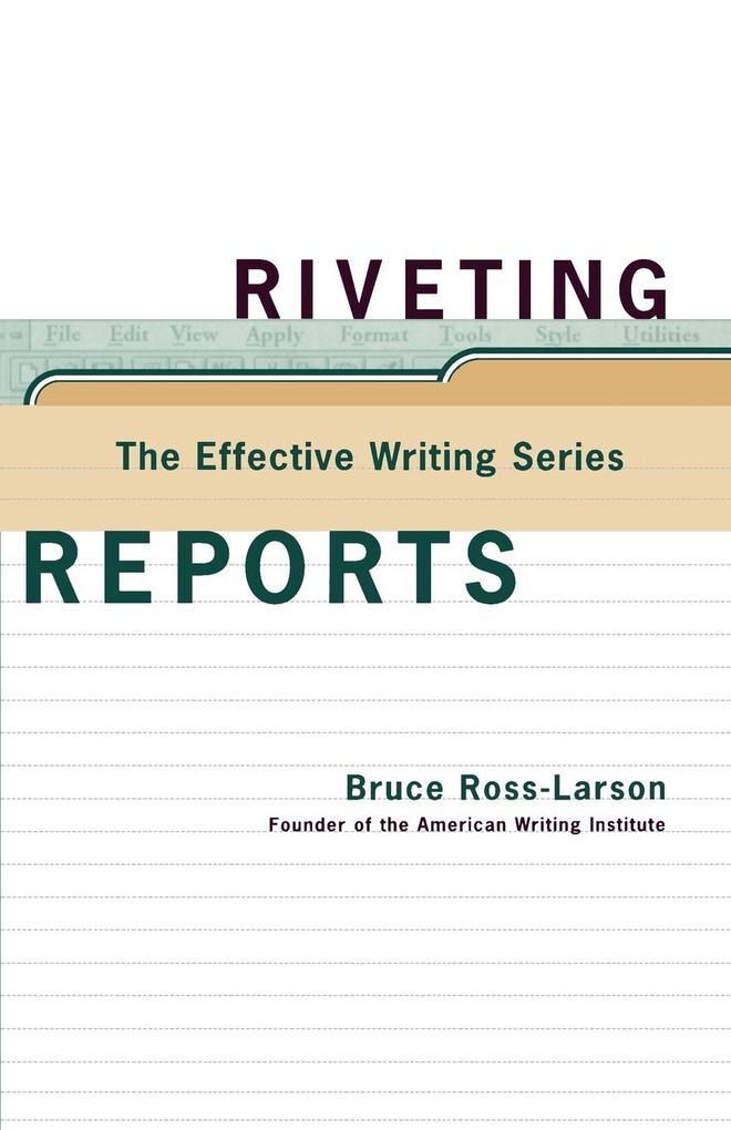 Riveting Reports als Taschenbuch