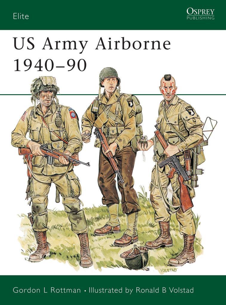 US Army Airborne, 1940-90 als Taschenbuch