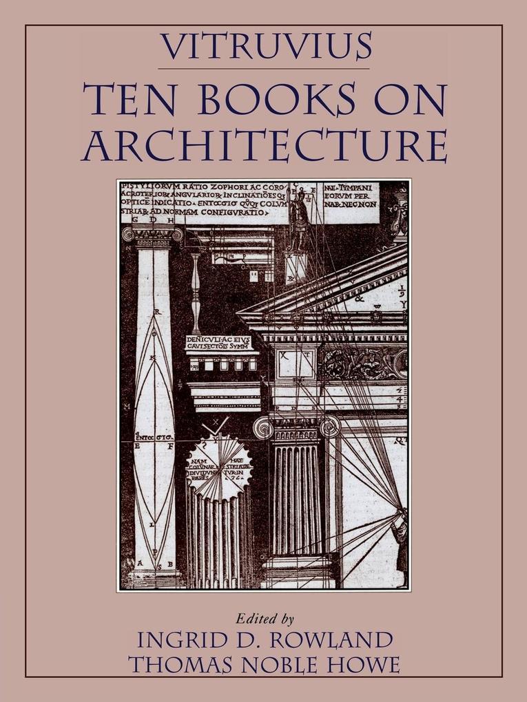 Vitruvius: 'Ten Books on Architecture' als Buch
