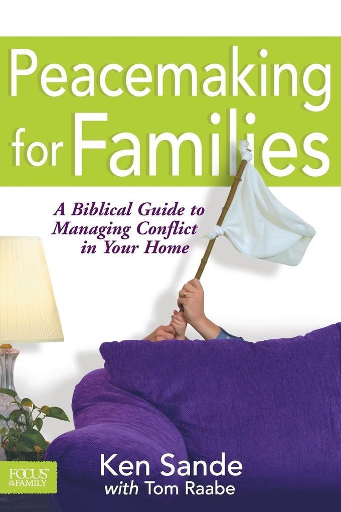 Peacemaking for Families als Taschenbuch