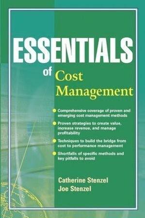 Essentials of Cost Management als Taschenbuch