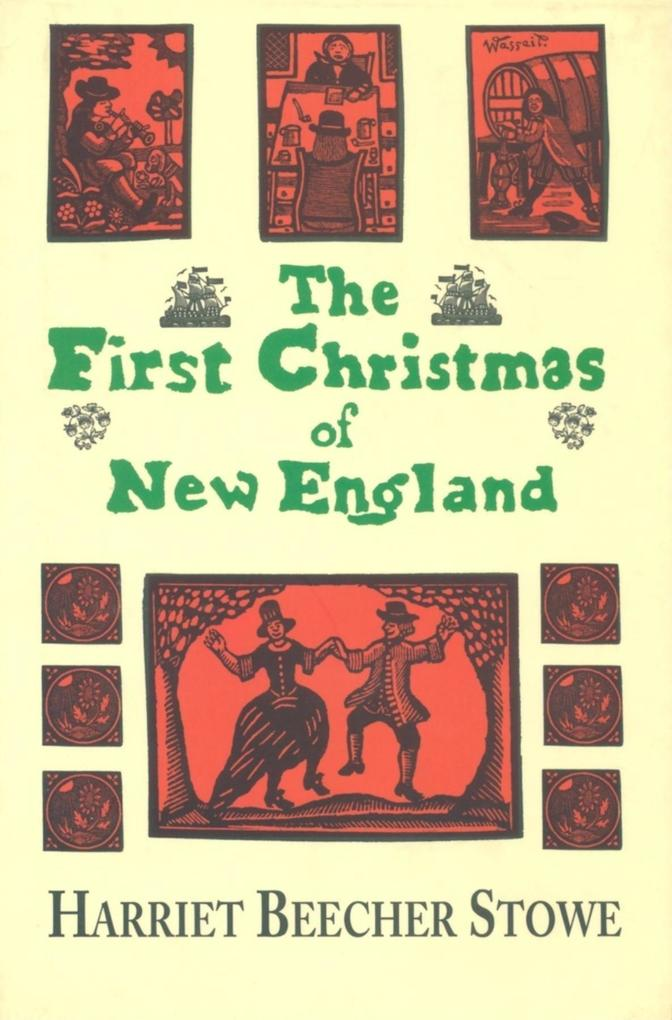 The First Christmas in New England als Buch