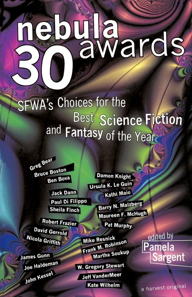 Nebula Awards 30: Sfwa's Choices for the Best Science Fiction and Fantasy of the Year als Taschenbuch