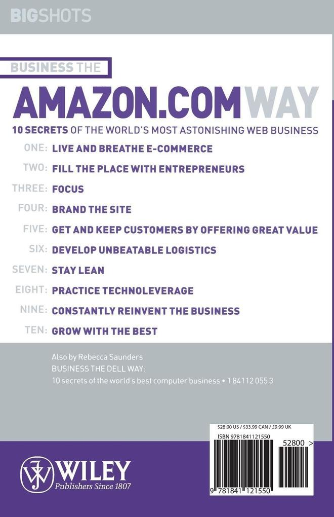 Business the Amazon.com Way als Buch
