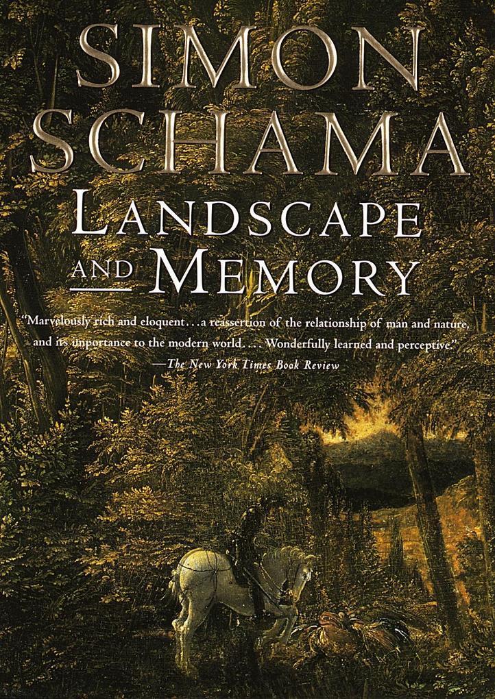 Landscape and Memory als Taschenbuch
