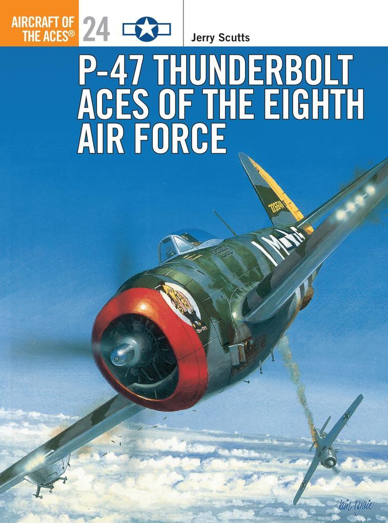 P-47 Thunderbolt Aces of the ETO/MTO als Taschenbuch