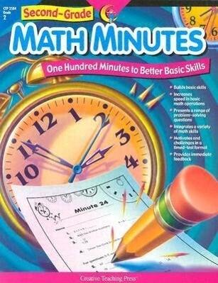 2nd-Grade Math Minutes als Taschenbuch