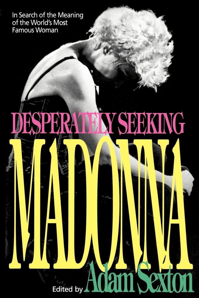 Desperately Seeking Madonna als Taschenbuch
