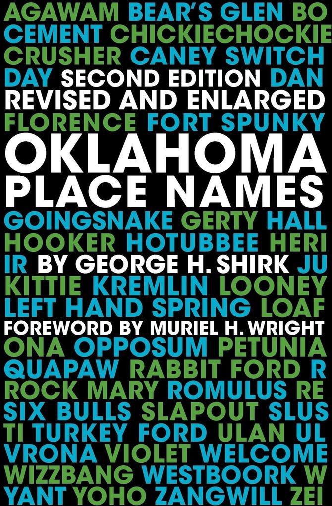 Oklahoma Place Names als Taschenbuch