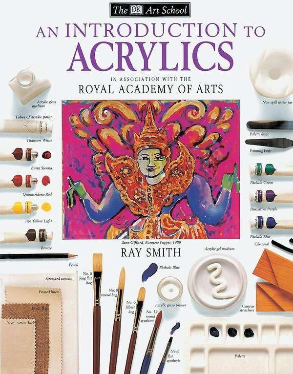 DK Art School: An Introduction to Acrylics als Taschenbuch