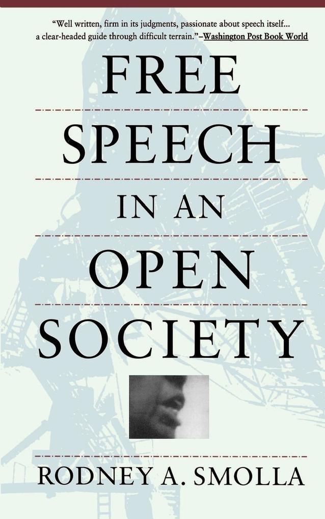 Free Speech in an Open Society als Taschenbuch