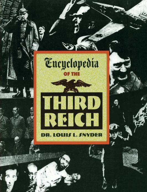 Encyclopedia of the Third Reich als Taschenbuch
