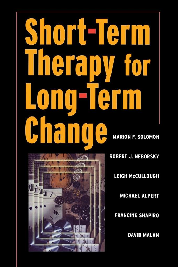 Short-term Therapy for Long-Term Change als Taschenbuch