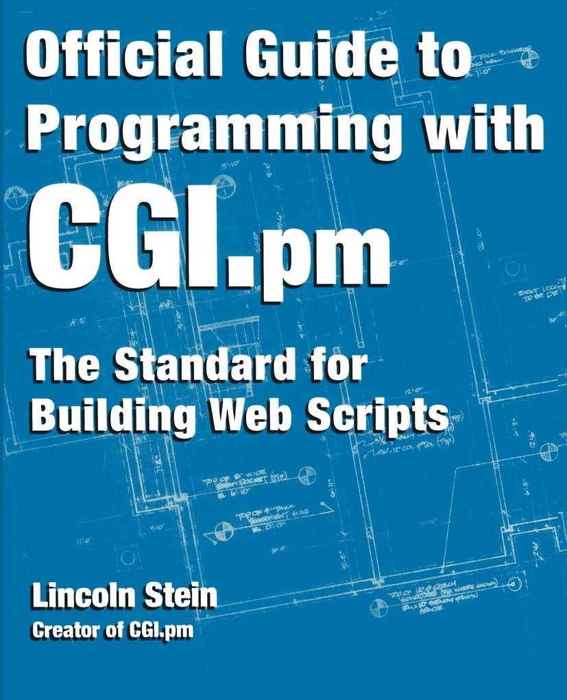 Official Guide to Programming with CGI.PM als Taschenbuch