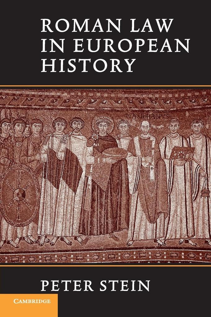 Roman Law in European History als Buch