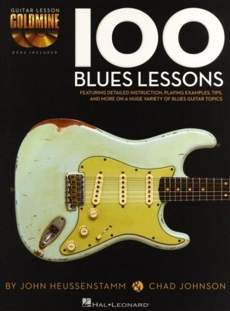 100 Blues Lessons: Guitar Lesson Goldmine als T...