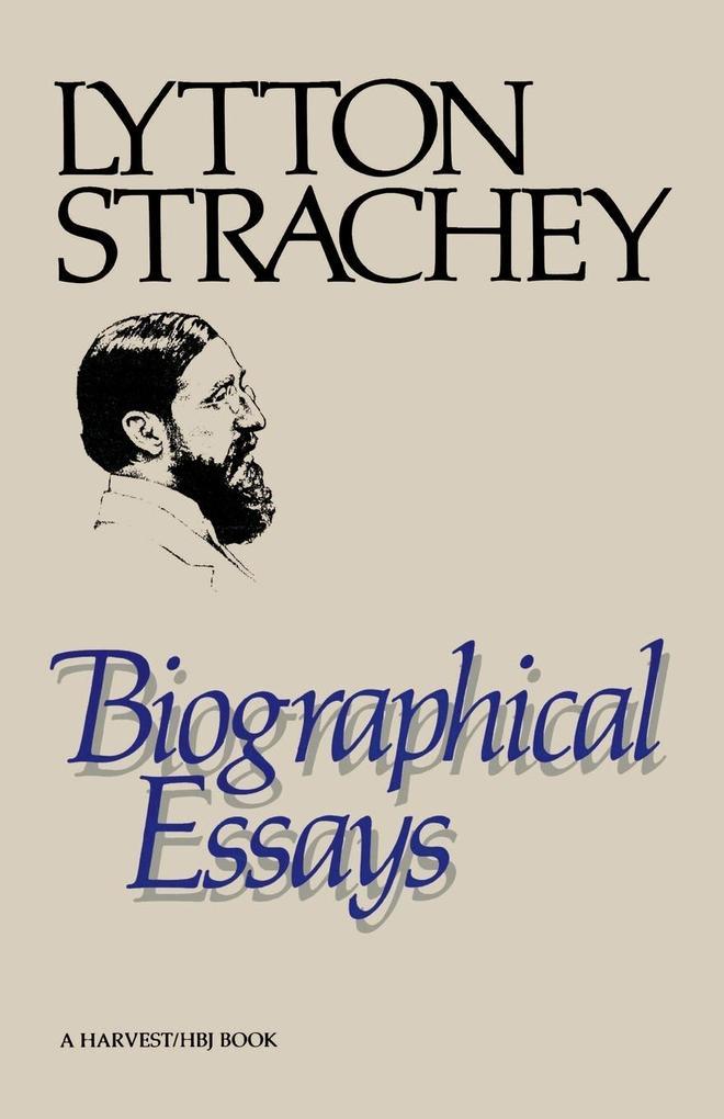 Biographical Essays als Taschenbuch