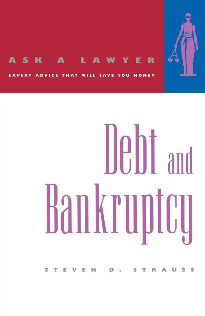 Debt and Bankruptcy als Taschenbuch