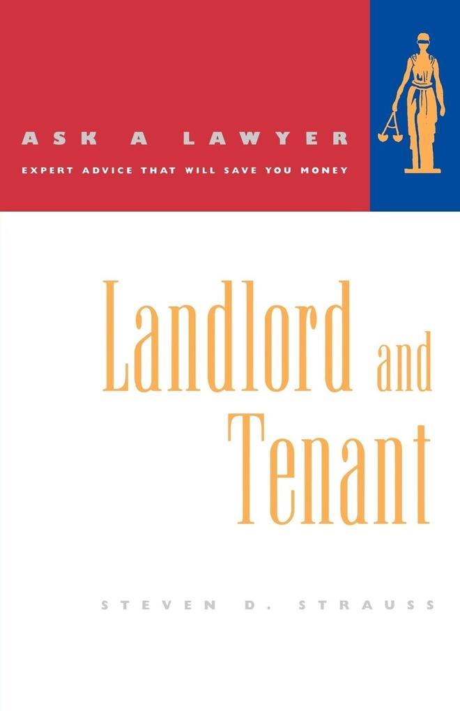 Landlord and Tenant als Taschenbuch