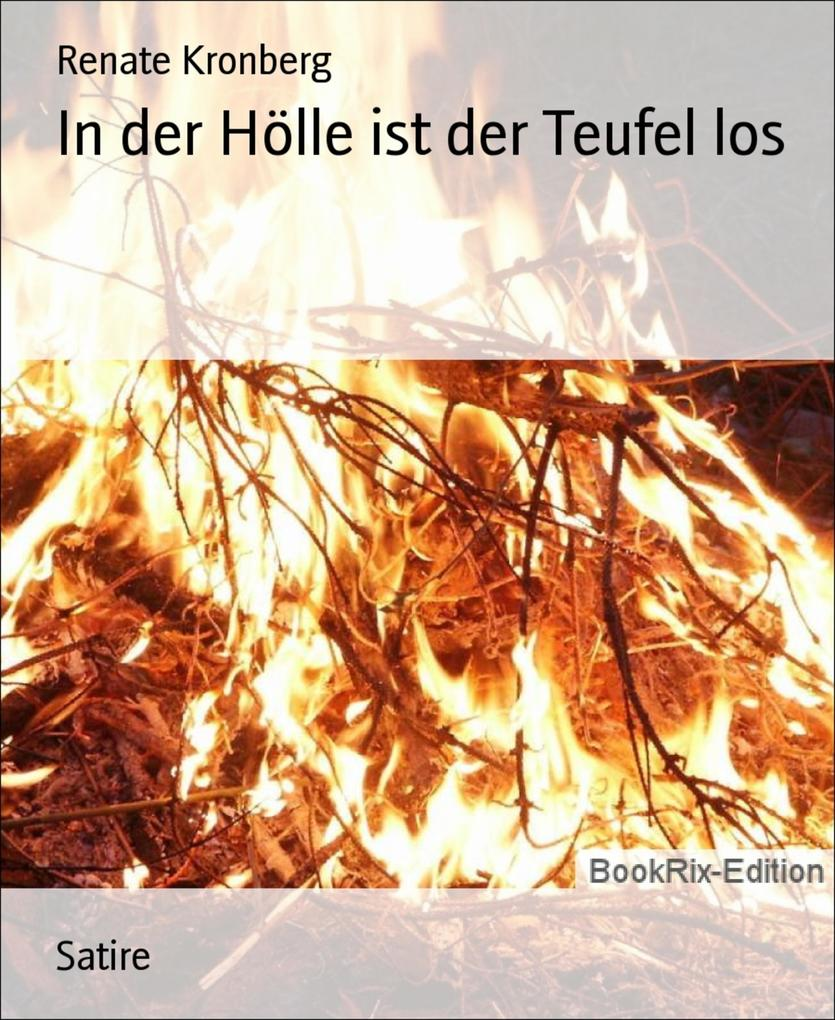 In der Hölle ist der Teufel los Renate Kronberg Author