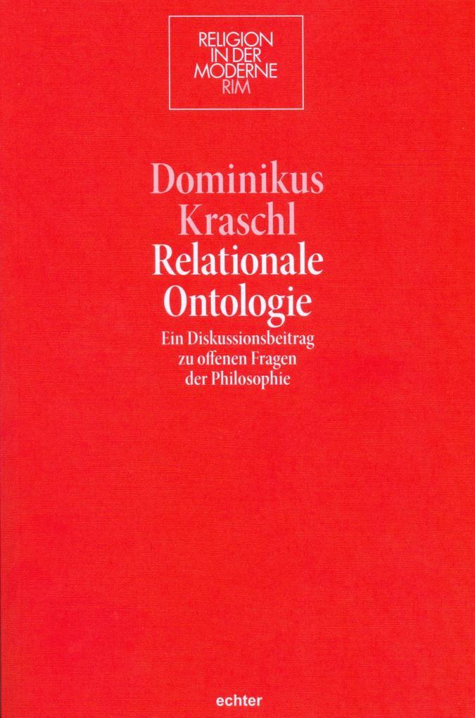 Relationale Ontologie als eBook epub
