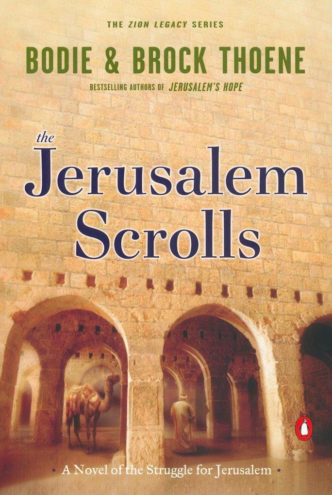 The Jerusalem Scrolls: A Novel of the Struggle for Jerusalem als Taschenbuch
