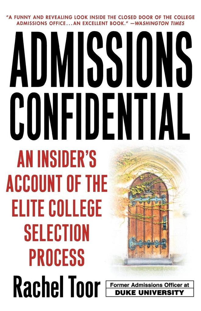 Admissions Confidential als Taschenbuch