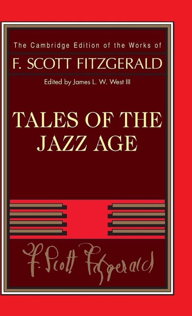 Tales of the Jazz Age als Buch