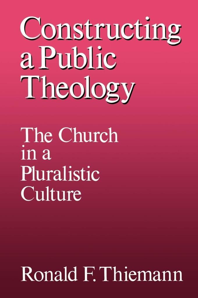 Constructing a Public Theology als Buch