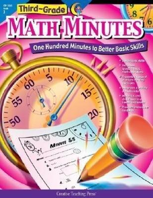 3rd-Grade Math Minutes als Taschenbuch