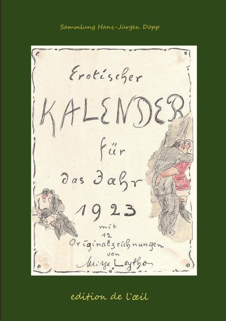 Mitja Leytho Erotischer Kalender 1923 als eBook